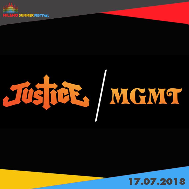 Una serata all'insegna dell'Elettronica con i JUSTICE+MGMT!