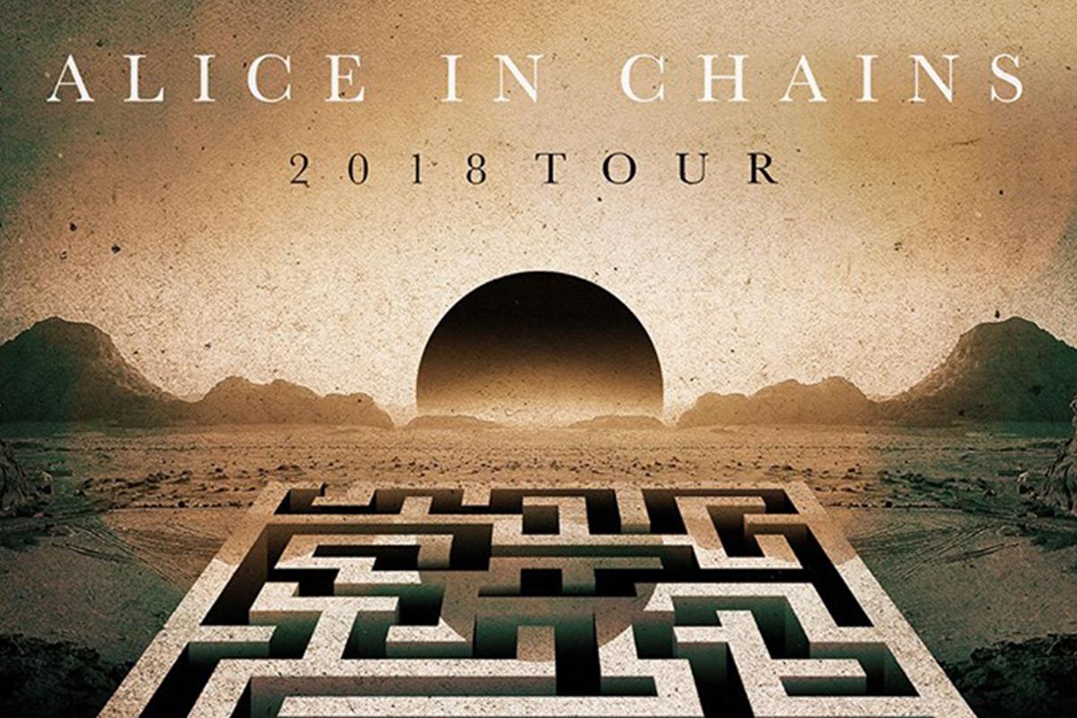 Alice in Chain al Milano Summer Festival il 10 luglio!