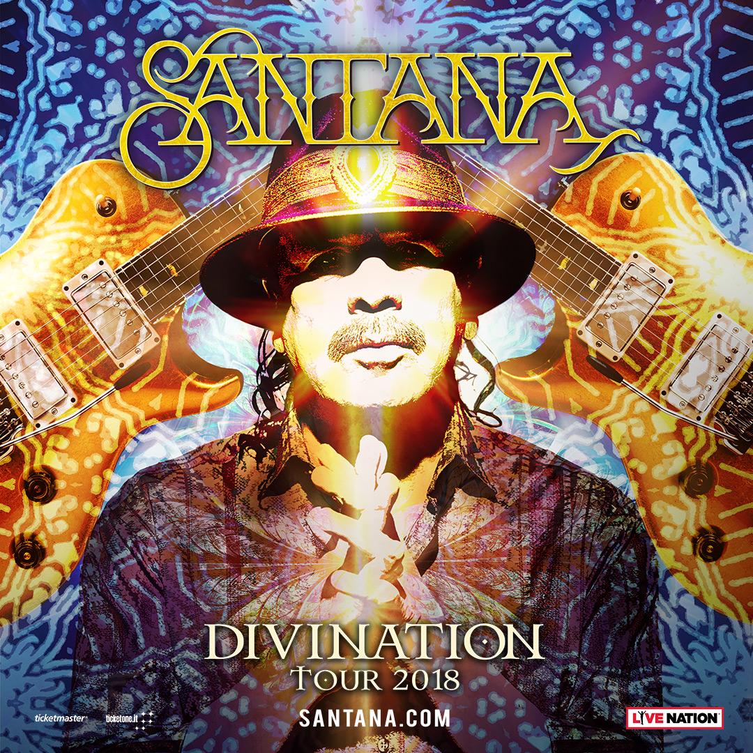 NUOVO ANNUNCIO! Carlos Santana torna in Italia!