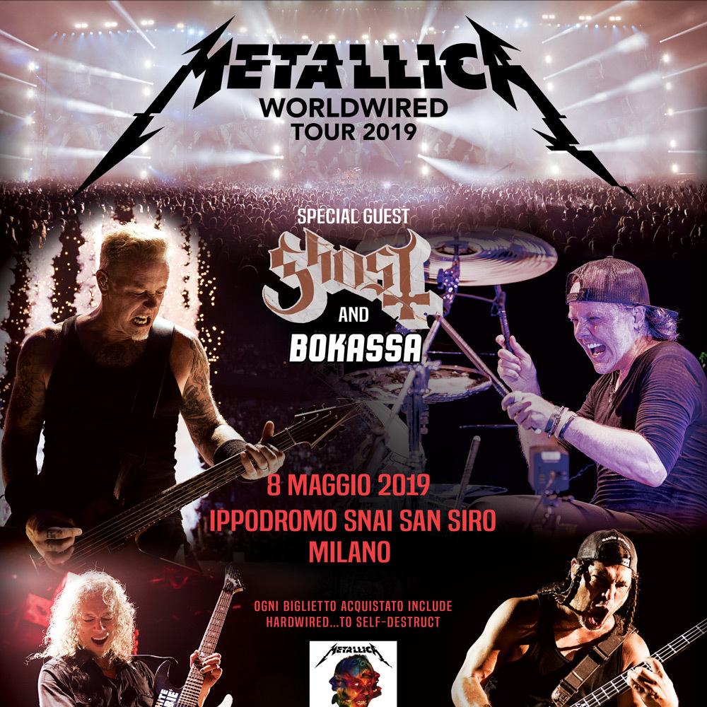 Metallica, 8 maggio