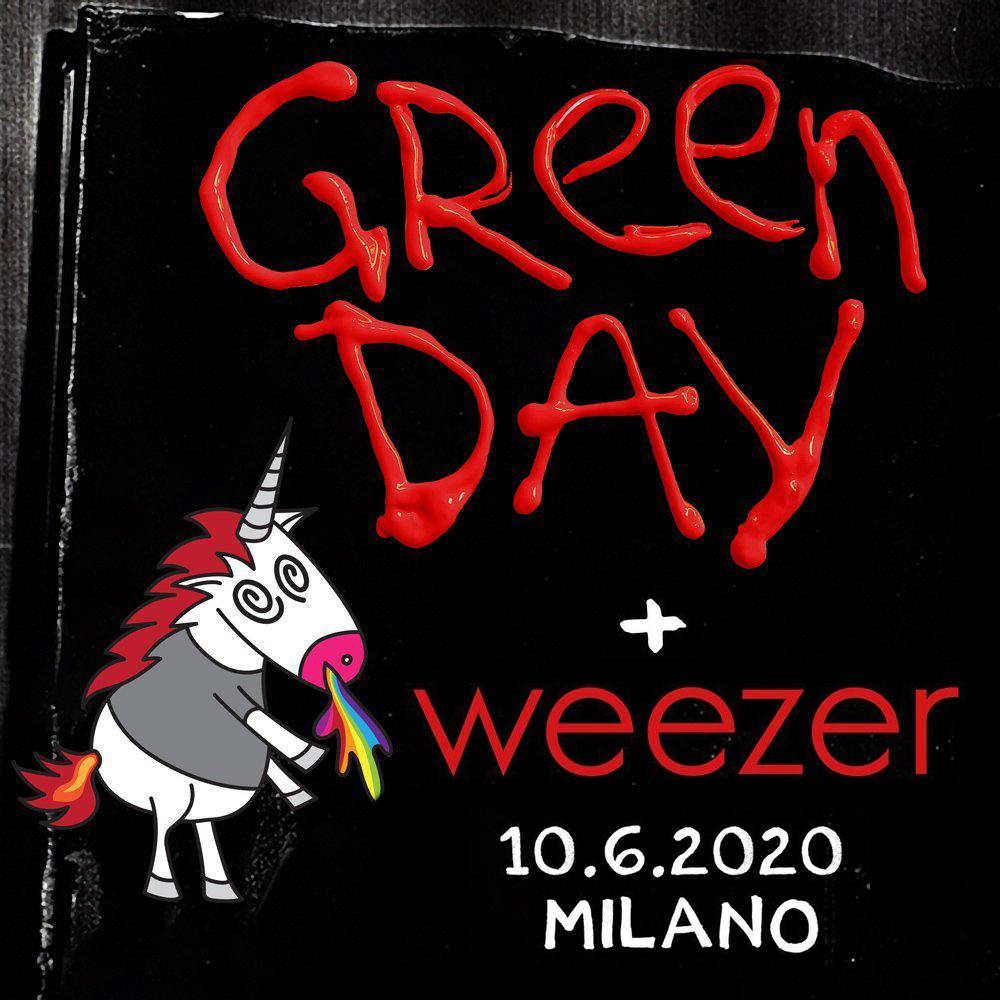 GREEN DAY 10 giugno