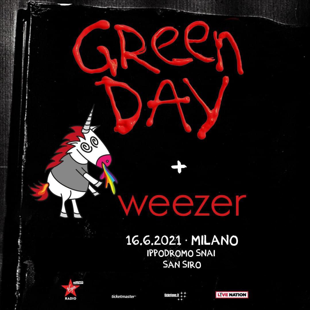 GREEN DAY 16 giugno 2021