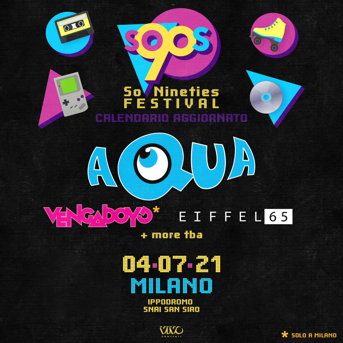 SO '90s FESTIVAL 4 luglio 2021