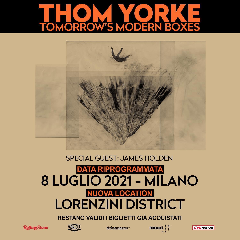 THOM YORKE 8 LUGLIO 2021 (riprogrammato)