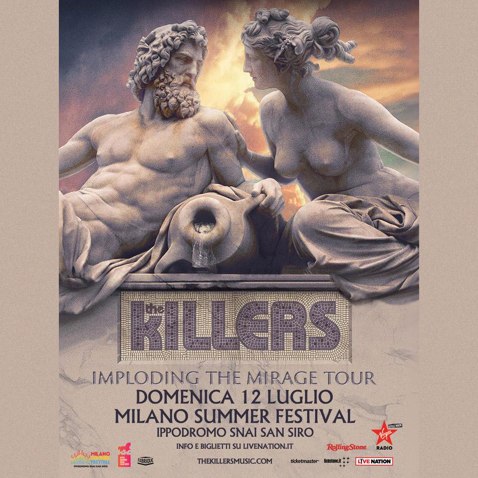 THE KILLERS 12 Luglio