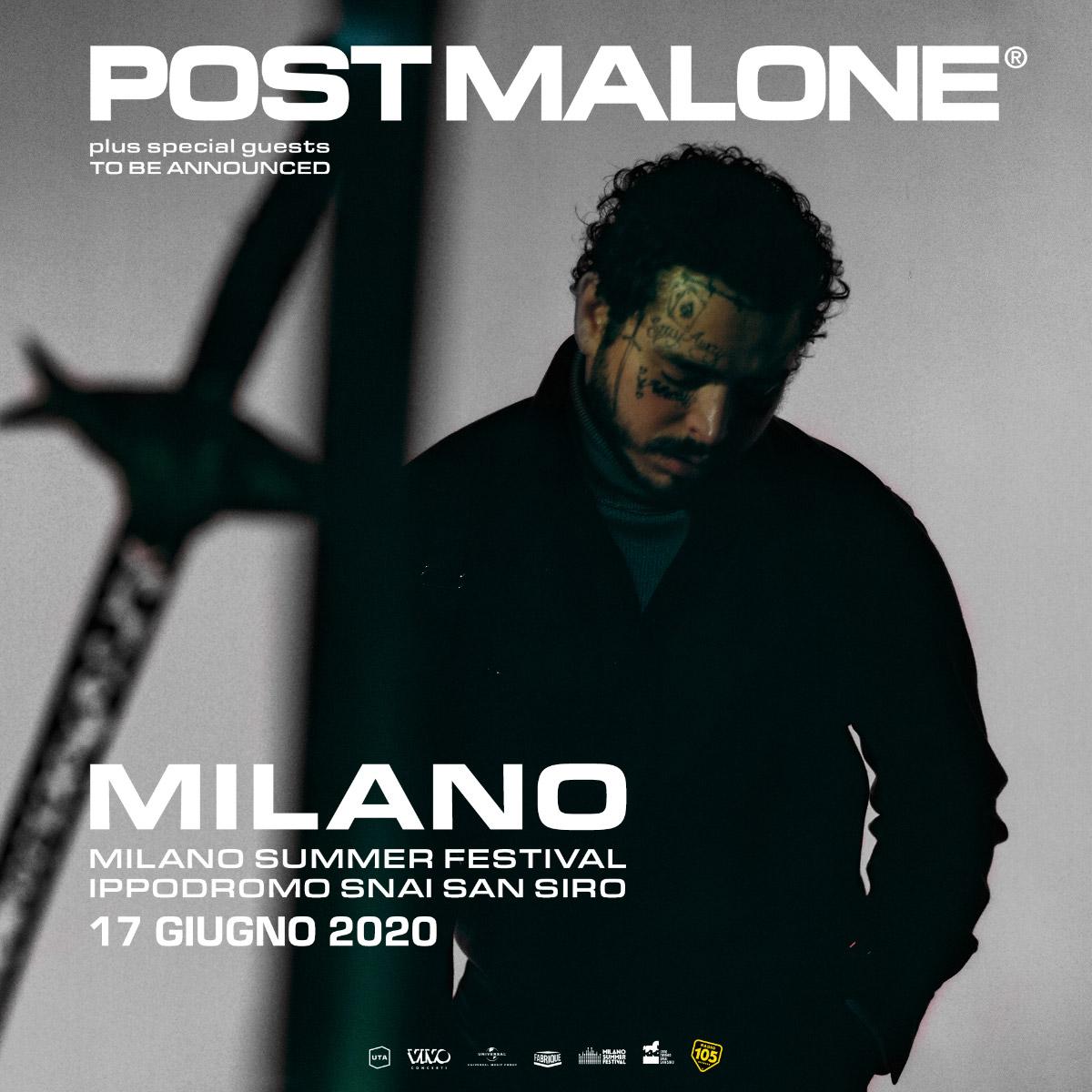 POST MALONE 17 Giugno
